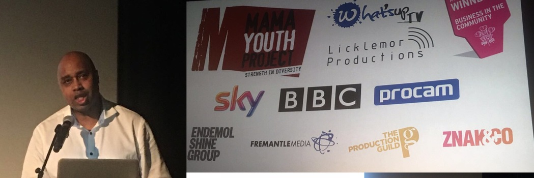 CEO of MAMA Youth Project, Bob Clarke at BFI for the 'Who's in your Crew' discussion.