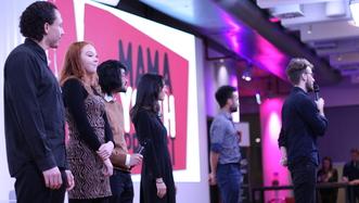 From left - Steven, Hannah, David, Catherine, Jarrod, Henry