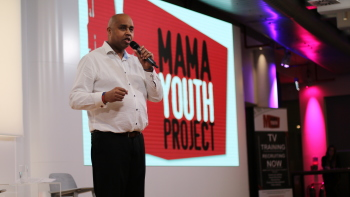 Photo: Bob Clarke, CEO of MAMA Youth Project