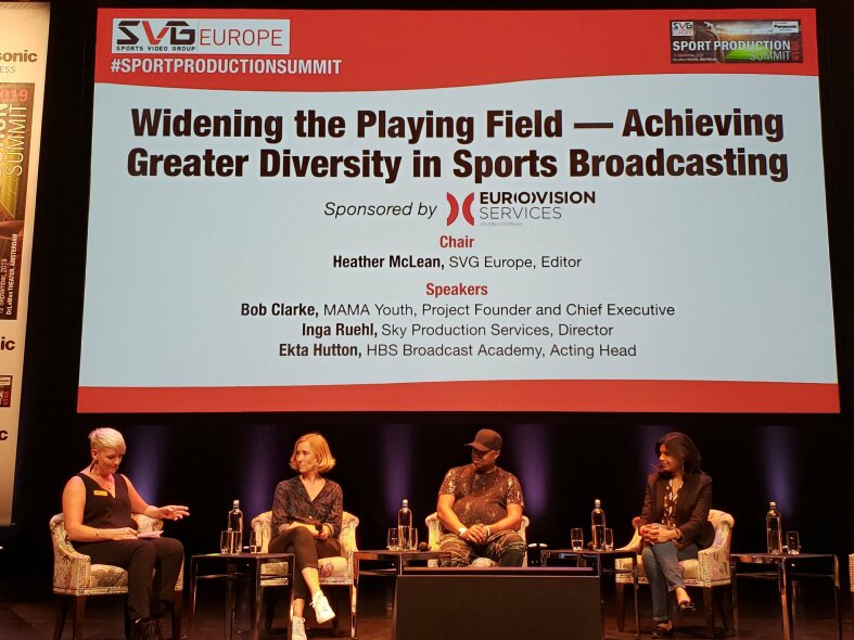 Achieving Greater Diversity in Sports Broadcasting Panel